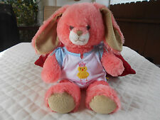 "2012 Build A Bear 16"" Coral Rabbit With Shirt"