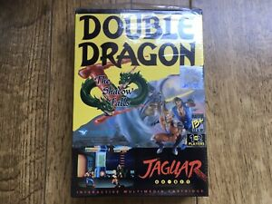 Double Dragon V The Shadow Falls Jaguar Game! Complete! Look In The Shop!