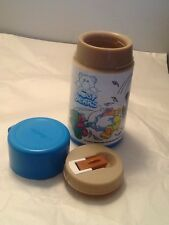 Nosy Bears Aladdin. Thermos All Parts 80S Lunchbox Type Great Condition