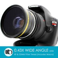 Weitwinkel Makro Objektiv für Canon Eos Digital Rebel mit / 50mm F/1.8 Stm II