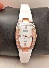5ff6314f256 ARMITRON Feminino 75 5143 mprgwt SWAROVSKI Cristal-Pulseira acentuados  Relógio-H71
