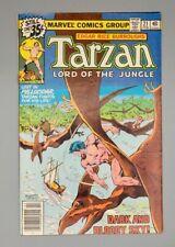 Marvel Comics - Edgar Rice Burroughs Tarzan Lord of the Jungle No. 21 - Feb 1979