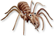 "3-D Wooden Puzzle - Tarantula - Gift Item ""Brand New"""