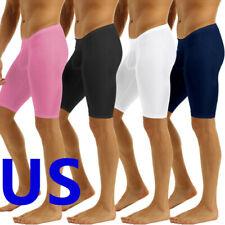 Men's Sports Gym Compression Shorts Quick Dry Short Tight Bulge Pouch Pants XL