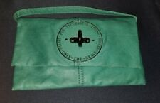 Diesel Teal Clutch Carry Strap Bag Purse