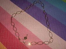 cinturon cadena MARCA virson medallones eslabones dorado con grabado de marca
