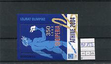 Albania 2004 BF 152 Giochi Olimpici di Atene mnh