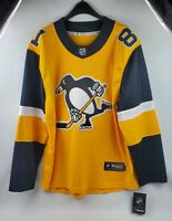 NHL Men Fanatics Branded Pittsburgh Penguins Phil Kessel Yellow Jersey Size L
