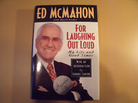 FOR LAUGHING OUT LOUD Ed McMahon autographed autobiography