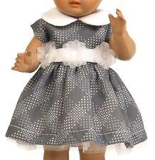 Schildkröt Puppenkleidung  Kleid mit Blütengürtel für 49 cm Puppe  49567