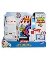 Disney Pixar Toy Story 4 Minis Buzz Lightyear's Star Adventure Playset New