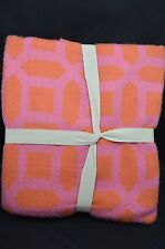Pottery Barn Teen Geo Print Frindge Orange 60""