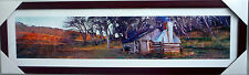 Ken Duncan Print Framed with signature Scenic Picture framed-Guys Hut