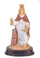 "5"" Inch Santa Barbara St Santa San Religious Statue Figurine Figure"