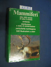 MAMMIFERI 500 illustrazioni a colori (62 B 1)