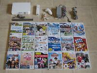 Nintendo Wii Konsole mit Zubehörpaket + 3 Gratis Wii Spiele + Remote
