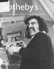 Sotheby's George Cosmatos Library Part II Auction Catalog '2005'