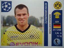 PANINI 403 Kevin Großkreutz BORUSSIA DORTMUND UEFA CL 2011/12