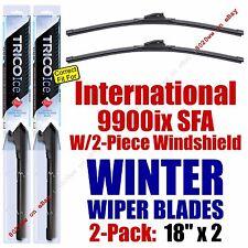 WINTER Wipers 2pk 2001-2003 International 9900ix SFA w/2-Piece Glass - 35180x2