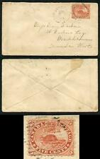 Canada SG31 5c Pale red on 9th Ju 1860 Cover