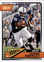 2018 Panini Classics Football RC Rookie Base Singles #200-300 (Pick Your Cards)