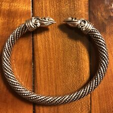 * Old Antique Vintage European Viking Style Bracelet Modern Rendition Museum