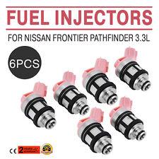 6 Pcs Fuel Injectors For 1996-2004 Nissan Frontier Pathfinder Xterra 3.3L Best