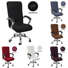 Office Home Chair Cover Waterproof Stretch Protector Removable Seat Decor