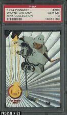 1994 Pinnacle Rink Collection Wayne Gretzky Los Angeles Kings HOF PSA 10