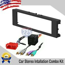 Car Stereo Radio Dash Installation  Kit with Harness Audi A4 A6 A8 TT 1996-2001