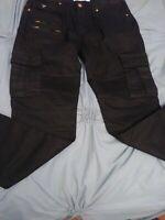 Guess Los Angeles 33 x 30 Black Slim Tapered  Zip Jeans NWOT