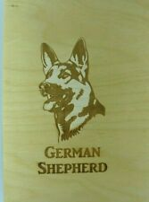 Laser Cut Wood Dog Plaques-Wall Art-Counter Displays German Shepard