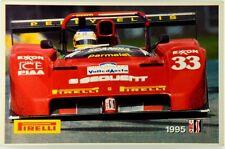 Adesivo Pubblicitario Auto Ferrari (1995)