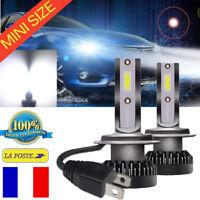 110W MINI H7 Ampoule LED Blanc Pur Aluminium Phare Voiture Lampe Kit 20000LM