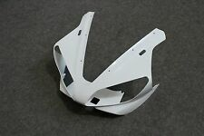 100% New ABS White Cowl Front Nose Fairing For YAMAHA YZF R1 2000 2001 Unpainted