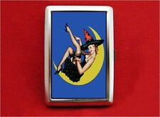 WITCH MOON PIN UP GIRL VINTAGE CIGARETTE ID IPOD CASE