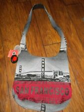 """ROBIN RUTH """"BE NOTICED"""" ORIGINAL SAN FRANCISCO LG Tote Bag PURSE NEW WITH TAGS"""