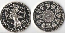 Médaille en Nickel euro Europa ( trésor du Patrimoine - 030 )