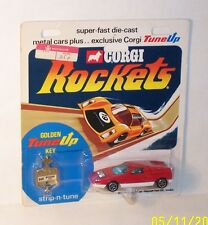 CORGI ROCKETS Vintage D909 MERCEDES BENZ C111 In RED - MOC
