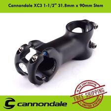 "Cannondale XC3 1-1/2"" x 31.8mm Stem +-5deg  90mm Aluminum Stem MTB Bike"