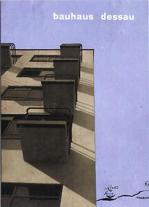 Kunst- Doppelkarte  - Herbert Bayer: Bauhaus Dessau