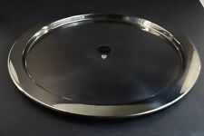 """Alessi Italy - Stainless Steel Mirror Polished Round 14.75"""" Serving Tray 5001/37"""