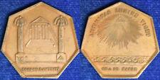 Medaglia Massoneria Masonry  Loge de l'Aménité 1910 §M198