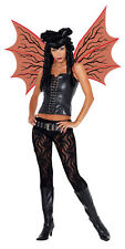 Demonette Gothic Scalloped Red Adult Wings With Black Veins Seasonal Visions