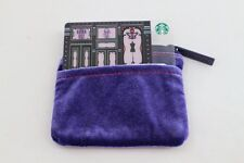 1 Pcs Starbucks Thailand Anna Sui w Purple Purse Special Edition Gift Card 2015