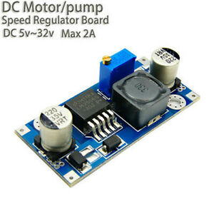 LM2596S Controller DC 5V 6V 12V 18v 24v 2A  Motor Speed  Regulator Module Board