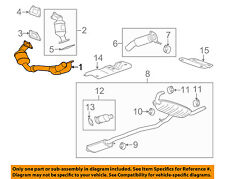 2005 cadillac srx exhaust diagram electrical work wiring diagram catalytic converters parts for cadillac srx ebay rh ebay com 2005 cadillac srx engine problems 2005 publicscrutiny Choice Image