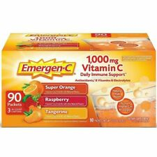 Emergen-C Vitamin C 1000mg Variety Mix Supplement - 90 Count