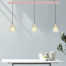 LED Glass Chandelier Pendant Lamp Fixtures Dining Room Ceiling Light
