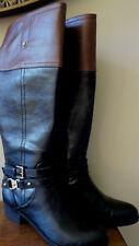 d05afdcdc20 Liz Claiborne Tory Women s Black Wide Calf Boots Size 5M ...